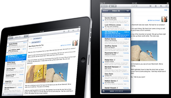 Mail for iPad
