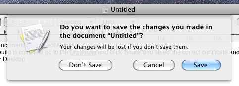 The standard save sheet in Mac OS X 10.6 Snow Leopard